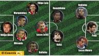 El 11 titular de los jugadores brasileños que no van al Mundial