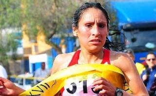 Gladys Tejeda rompió récord nacional en 10 mil metros planos