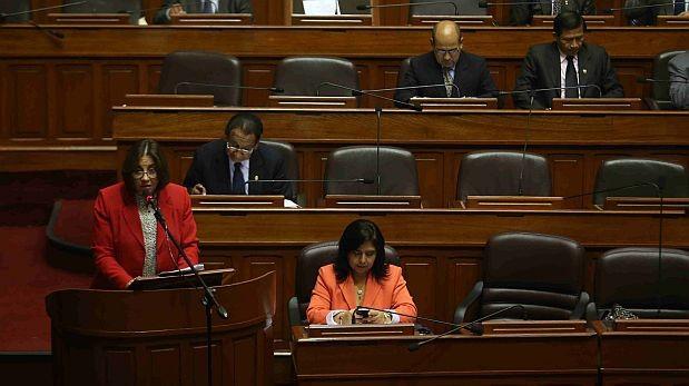 Solo 40 congresistas están en interpelación a Jara y De Habich