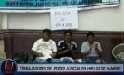 Trabajadores del PJ inician huelga de hambre contra Ley Servir