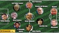 El 11 de ex jugadores que dirigirán en el Mundial Brasil 2014