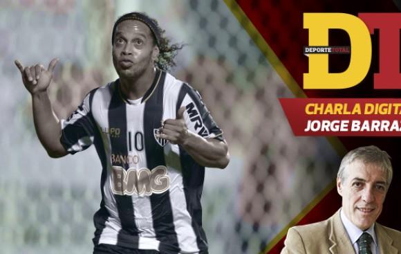 ¿Ronaldinho merecía ir al Mundial? Pregúntale a Jorge Barraza