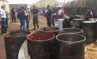 Decomisaron 672 galones de petróleo de contrabando en Paita
