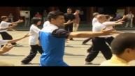 Sergio Agüero se prepara para el Mundial haciendo Tai Chi