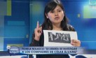 Fiorella Nolasco pide que se investigue a Heriberto Benítez