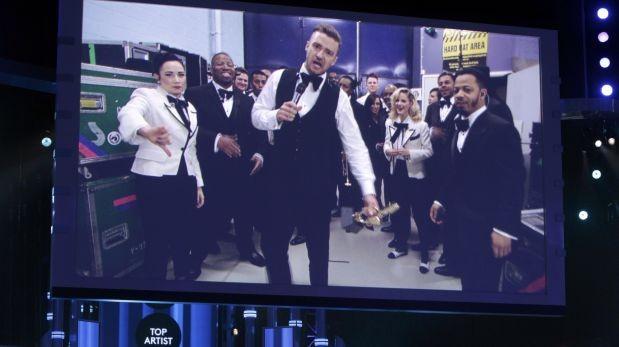 Justin Timberlake reinó con siete premios en los Billboard 2014