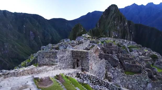 VIDEO: Graban ruta a Machu Picchu en ultra alta definición