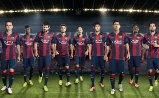 El Barcelona más catalán: su nueva camiseta lleva la 'senyera'