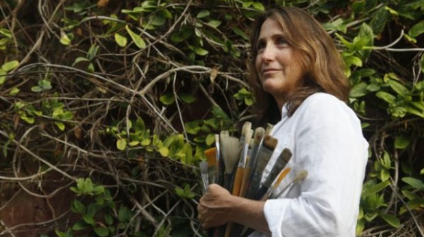 Se inauguró individual de la pintora Denise Mulanovich en Fórum