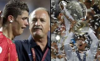 Cristiano festejó en estadio en el que hace 10 años lloró