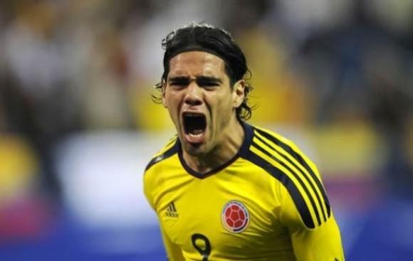 Radamel Falcao entrena con Colombia, pero por separado