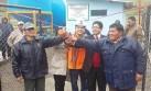 Milpo inauguró obras de agua potable en Pasco mediante OxI