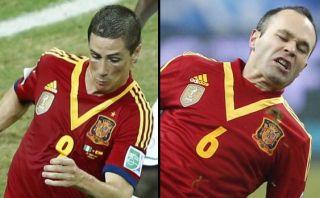 Iniesta y Torres señalan a Brasil como la favorita al Mundial