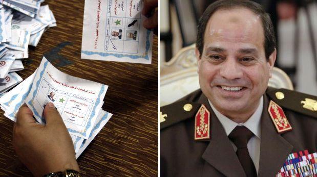 Elecciones en Egipto: aplastante victoria de Al Sisi