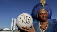 Brasil: Manifestantes indígenas bloquean acceso a ministerio