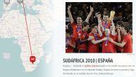 Un recorrido multimedia junto a los campeones de los mundiales
