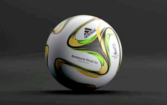 Brazuca Final Río, así es la pelota de la final del Mundial