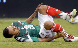 Montes fue operado y estará seis meses fuera tras grave lesión