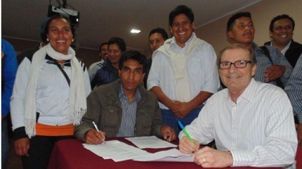 Antamina y comunidad logran acuerdo para desarrollar proyectos