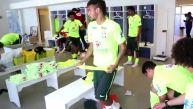 Neymar y Brasil disfrutan de salsa de Joe Arroyo en su camarín