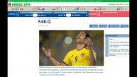 Así informaron los medios la ausencia de Falcao en el Mundial