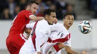 MINUTO A MINUTO: Perú iguala 0-0 con Suiza
