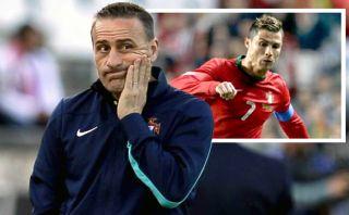 ¿Qué opina técnico de Portugal de la chance de jugar sin CR7?