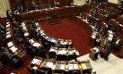El pleno comenzó debate para prohibir reelección en regiones