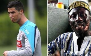Brujo ghanés asegura que causó la lesión de Cristiano Ronaldo
