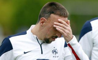 Confirmado: Franck Ribéry se pierde el Mundial por lesión