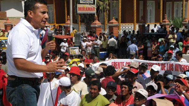 Partido de Humala recibió más de US$49 mil de mineros ilegales