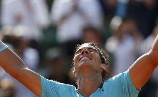 Este punto clasificó a Nadal a su novena final de Roland Garros