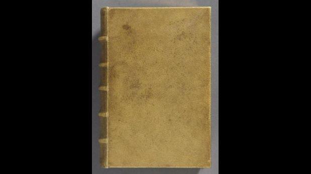 Harvard descubre libro francés encuadernado con piel humana
