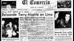 Así ocurrió: En 1963 Fernando Belaúnde es elegido Presidente - Noticias de oliver twist