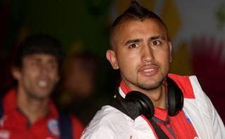 Vidal no es fijo para el Mundial tras nuevos exámenes médicos