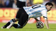 Lionel Messi volvió a vomitar, ahora en el Argentina-Eslovenia