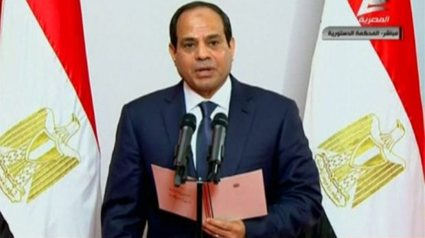 Al Sisi asume la presidencia de Egipto pidiendo estabilidad