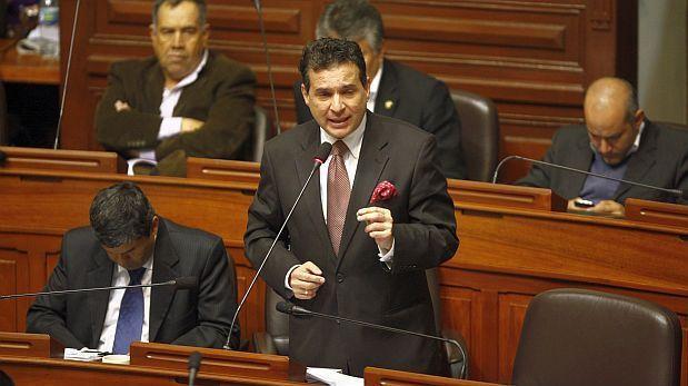 Omar Chehade pide al pleno aprobar ley contra el transfuguismo