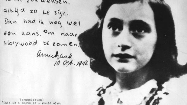 Así ocurrió: En 1929 nace la escritora judía Ana Frank