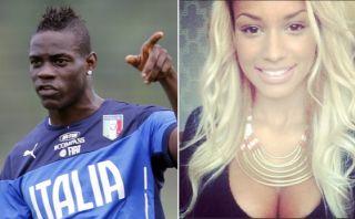 Balotelli le propuso matrimonio a su novia y lo contó Instagram