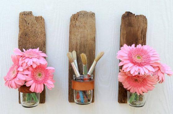 DIY: Utiliza la madera que tienes en casa y crea objetos únicos