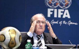 UEFA no quiere más a Joseph Blatter como presidente de la FIFA