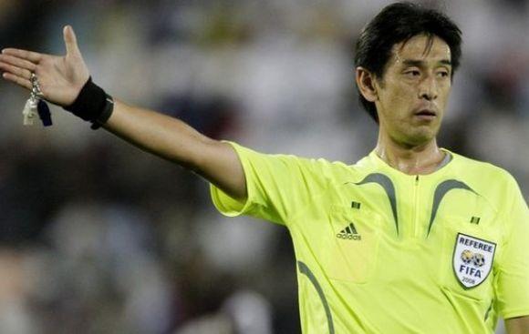 Nishimura, el policía que arbitrará partido inaugural de Brasil