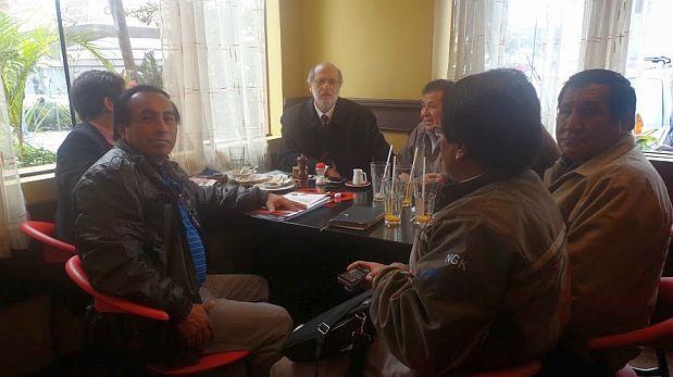 Abugattás intercedió por mineros que apoyaron campaña de Humala