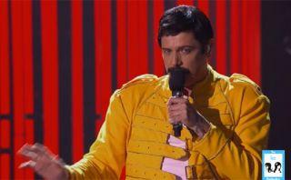 Sebastian Bach se convirtió en Freddie Mercury para show de TV