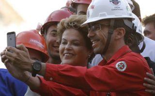 Brasil: Rousseff defiende las obras del Mundial 2014
