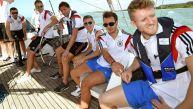 Brasil 2014: Alemania se divirtió con un paseo en velero