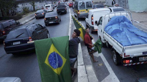El tránsito fluye con regularidad por segundo día en Sao Paulo