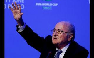Blatter por la reelección: quiere seguir al mando de la FIFA