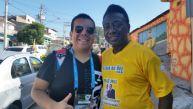 Deporte Total encontró al clon de Pelé en Sao Paulo